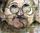 The man with a head like the moon by Jenny Wood