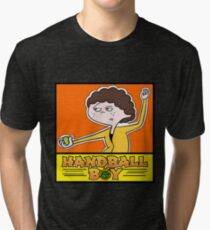 Handball Boy  Tri-blend T-Shirt