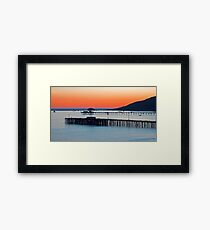 Avila Beach, California Framed Print