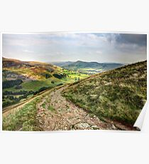 Evening in Edale Poster