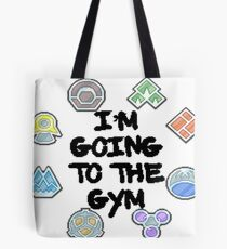 I'm Going To the Gym Tote Bag