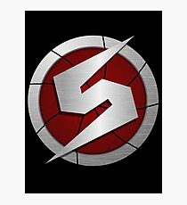 Metroid/Screw Attack Logos Photographic Print