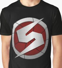 Metroid/Screw Attack Logos Graphic T-Shirt