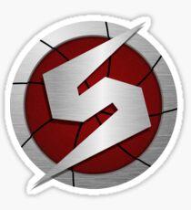 Metroid/Screw Attack Logos Sticker
