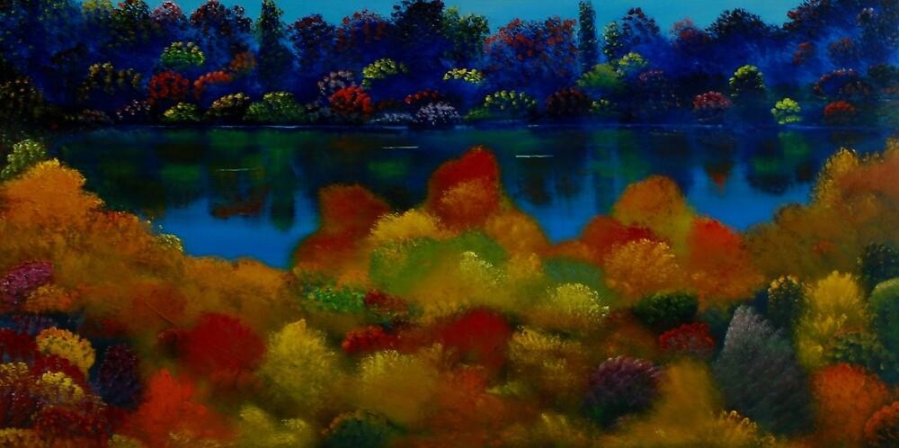Garden Lake by David Snider