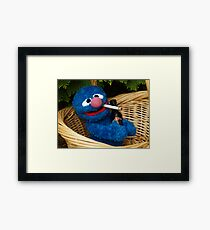Addicted Grover Framed Print