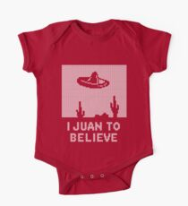 I Juan to Believe - Ugly Christmas One Piece - Short Sleeve