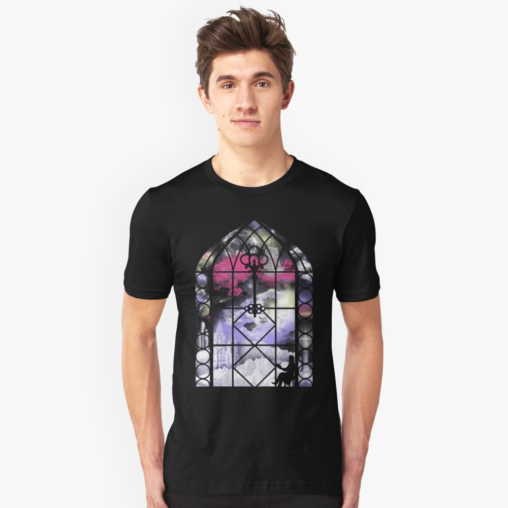 The Reader (A Key to Imagination) Unisex T-Shirt Front