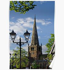 St Alphege Church, Solihull Poster