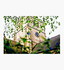 St Alphege Church in Solihull, UK Photographic Print