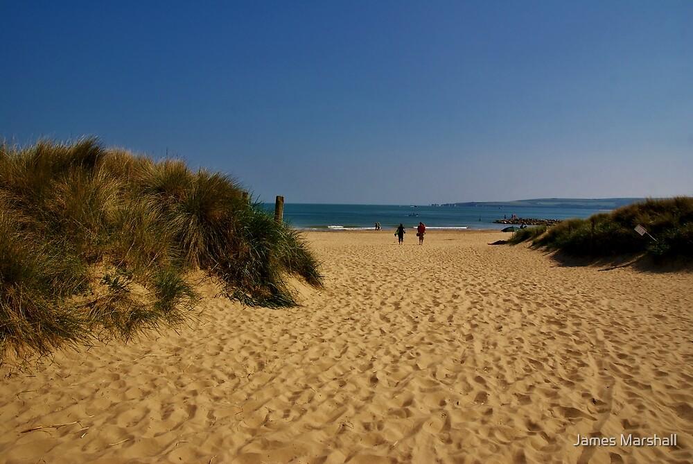 Sandbanks at Sandbanks by James Marshall
