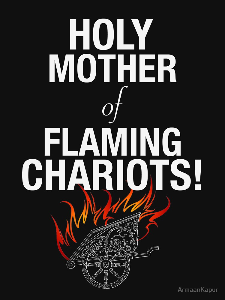 Holy Flaming Chariots! by ArmaanKapur