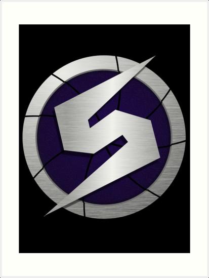 Purple Metroid Logo Gravity Suit By Kyle8497
