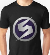 Purple Metroid Logo (Gravity Suit) T-Shirt