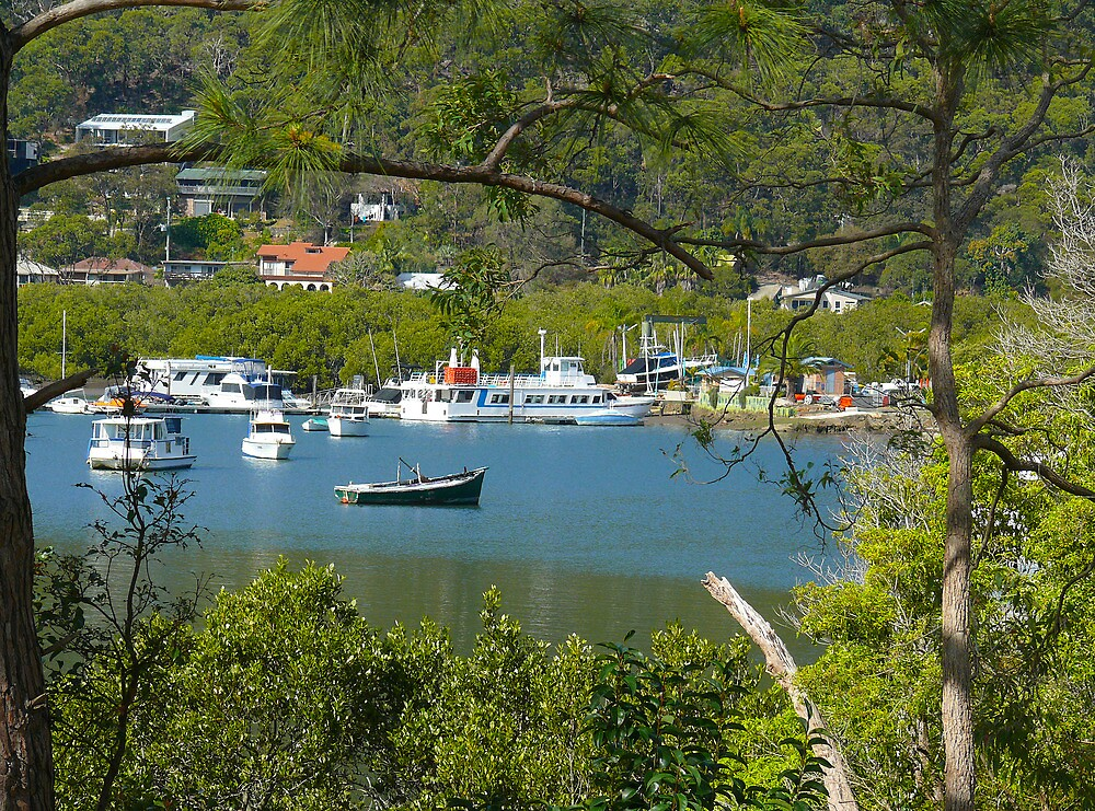 Brooklyn Harbour, NSW by Sharon Brown