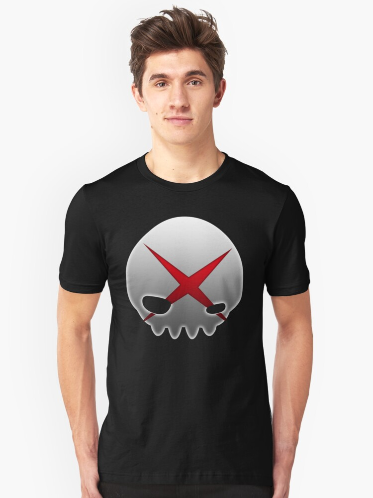 Red X Unisex T-Shirt Front