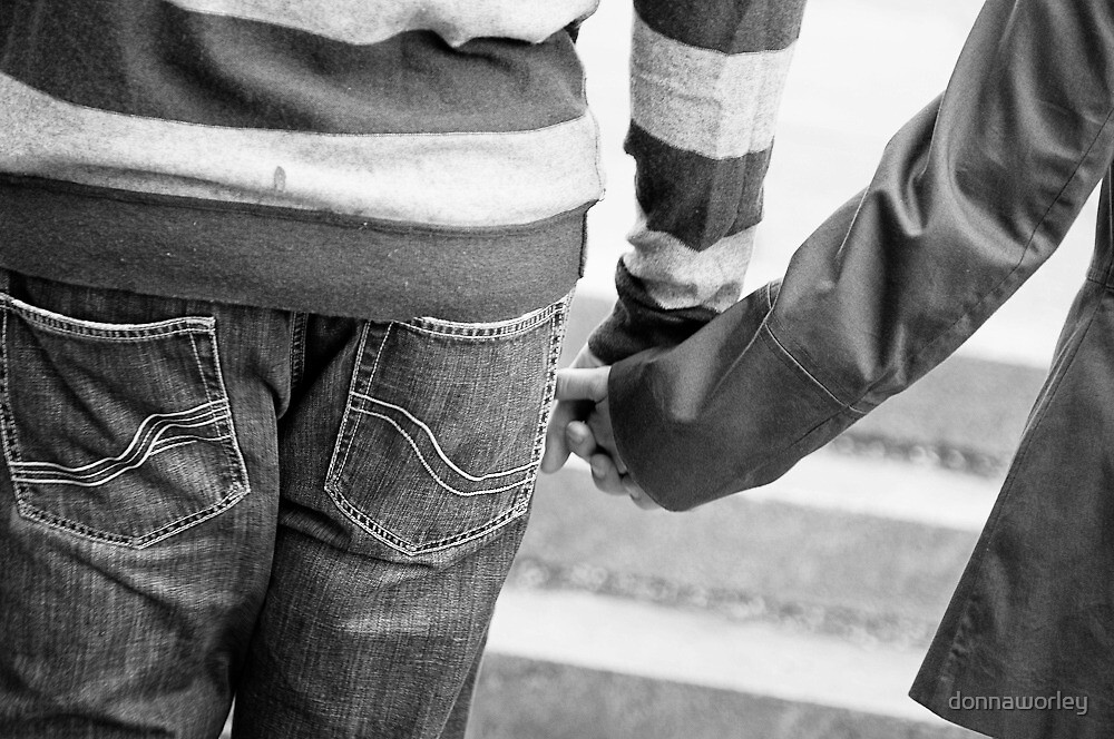 hand in hand by donnaworley