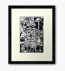 Cyber Evolution Framed Print