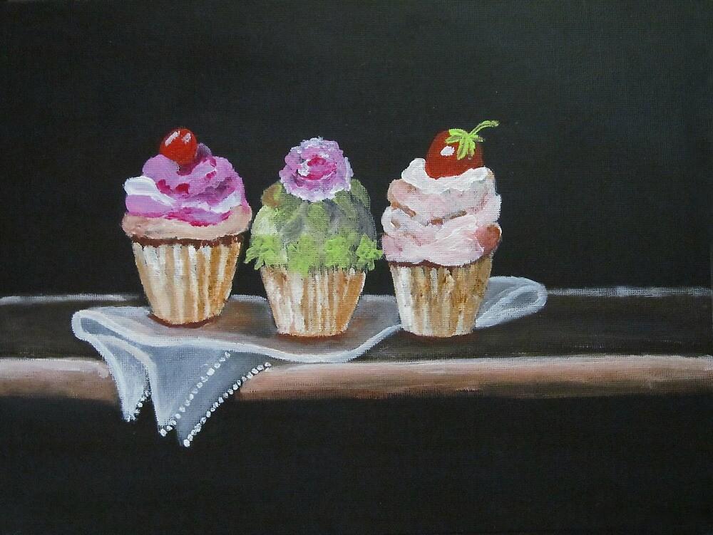 Cupcakes by Riana222