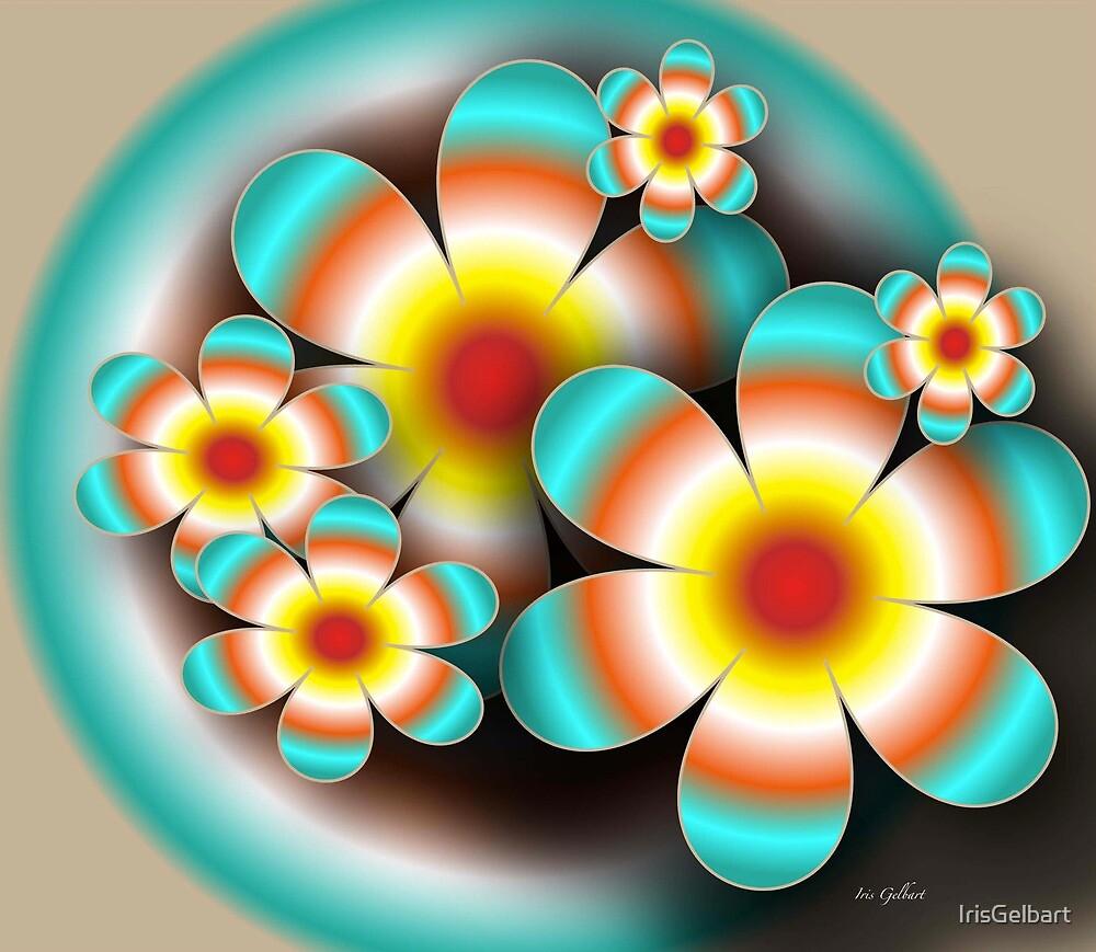 Floral Target by IrisGelbart