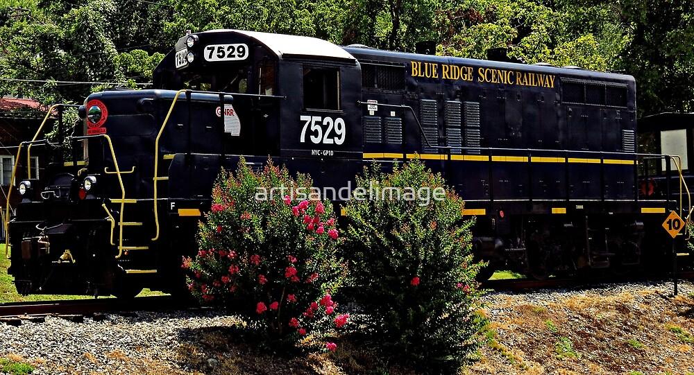 Blue Ridge Scenic Railway ~ Part Three by artisandelimage