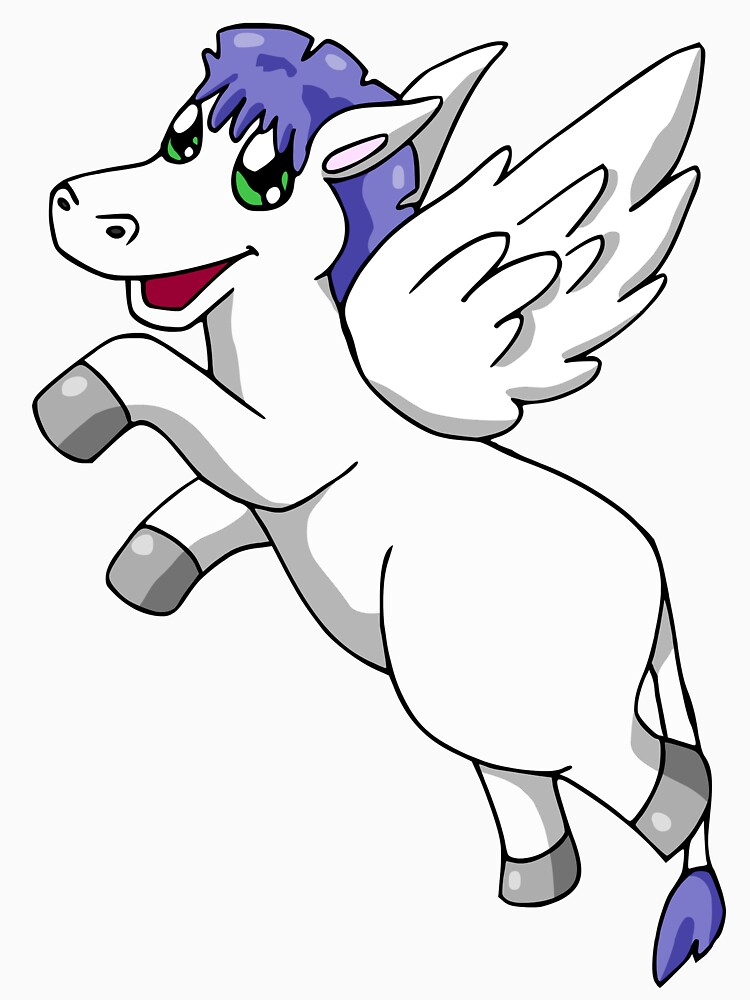 Flying Pegasus  by hybridwing