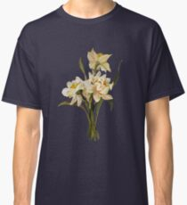 Double Narcissi In A Bouquet Isolated Classic T-Shirt