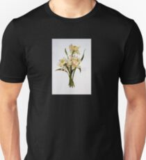 Double Narcissi In A Bouquet Unisex T-Shirt