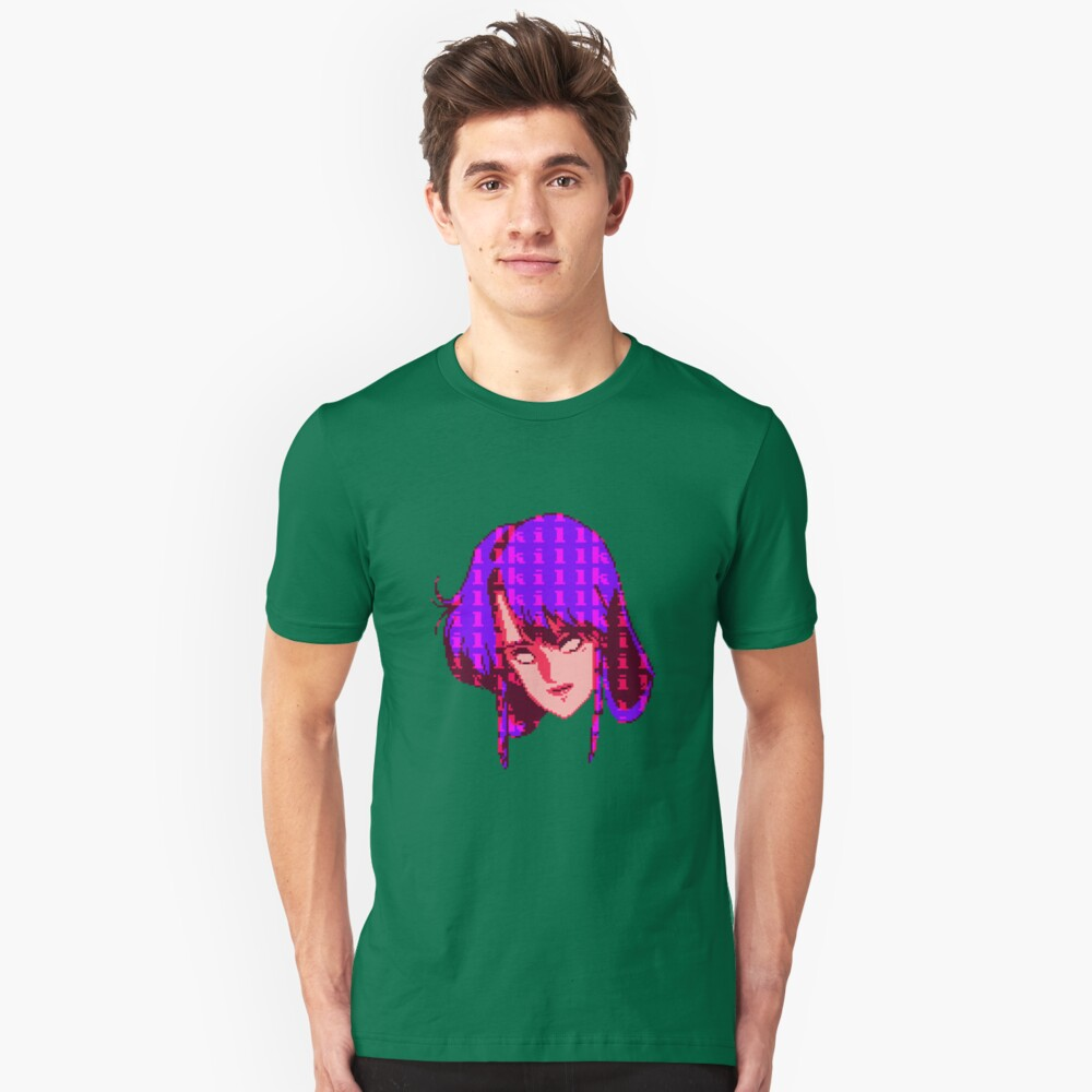 KILLGIRL.EXE (Purple) Unisex T-Shirt Front