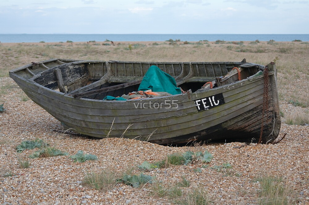 Wrecks on the beach by victor55