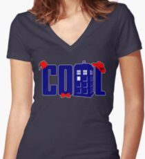 Cool Shirt is Cool Women's Fitted V-Neck T-Shirt