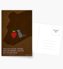 The Little Mouse, the Red Ripe Strawberry and the Big Hungry Bear Postcards