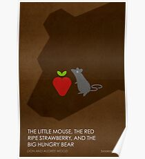 The Little Mouse, the Red Ripe Strawberry and the Big Hungry Bear Poster