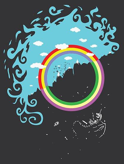 Somewhere under then rainbow by Jonah Block