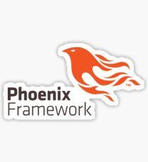 Phoenix framework Sticker