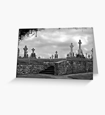 Tombstones Greeting Card