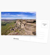 Stanage Edge, Peak District National Park, UK Postcards