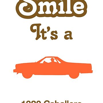 Smile it's a 1980 CABALLERO by SmileitsaShirt