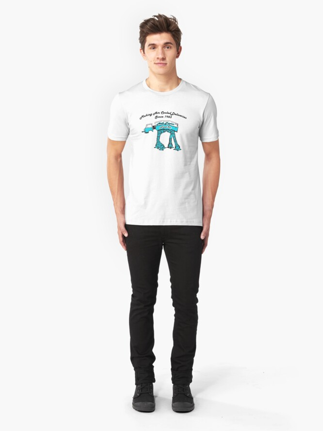 Alternate view of Air Cooled Deliveries Slim Fit T-Shirt