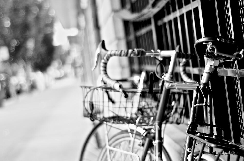 Bikes In Tacoma by LoshaPho