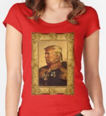 Emperor Trump 2016 Women's Fitted Scoop T-Shirt