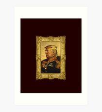 Emperor Trump 2016 Art Print