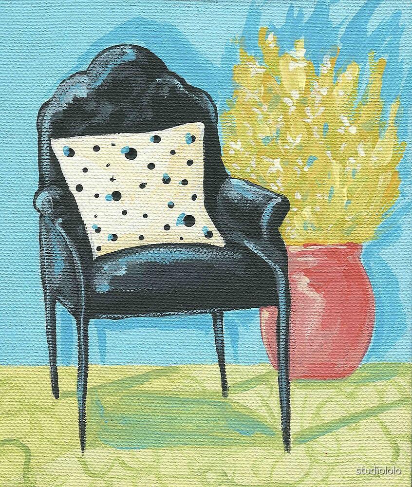 Retro Chair by studiololo