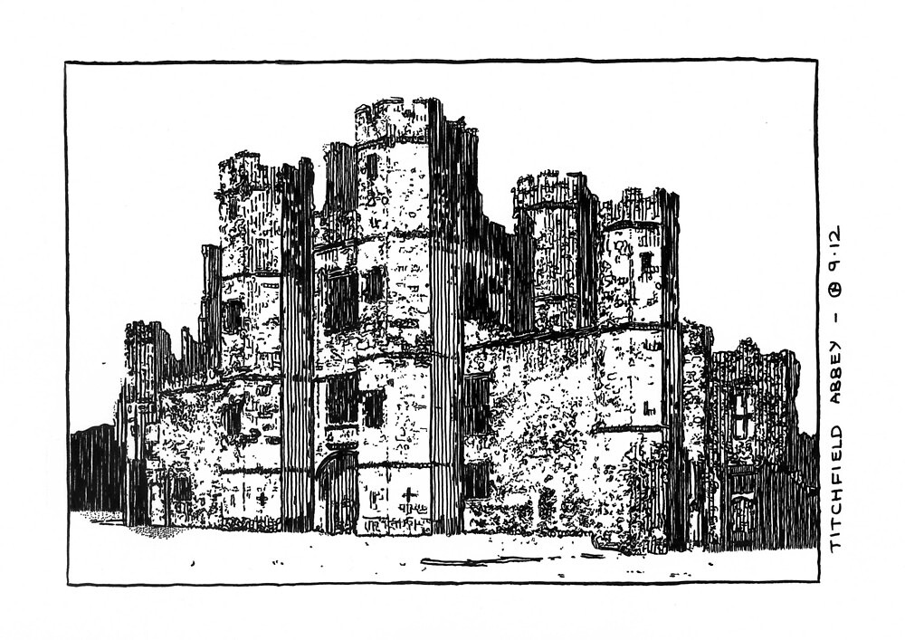 Titchfield Abbey by CyberSmudger