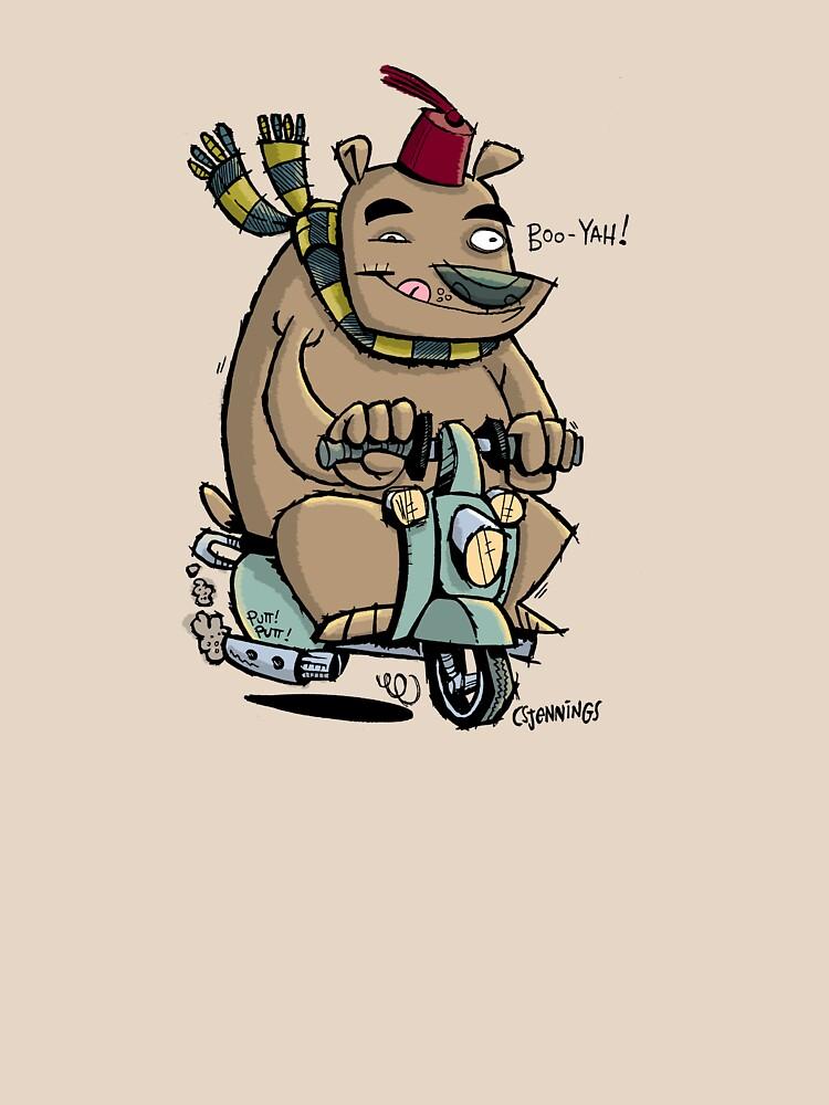 Scooter Bear by csjennings