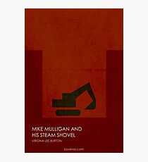 Mike Mulligan and His Steam Shovel Photographic Print