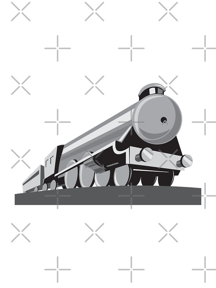 Steam Train Locomotive Retro by patrimonio