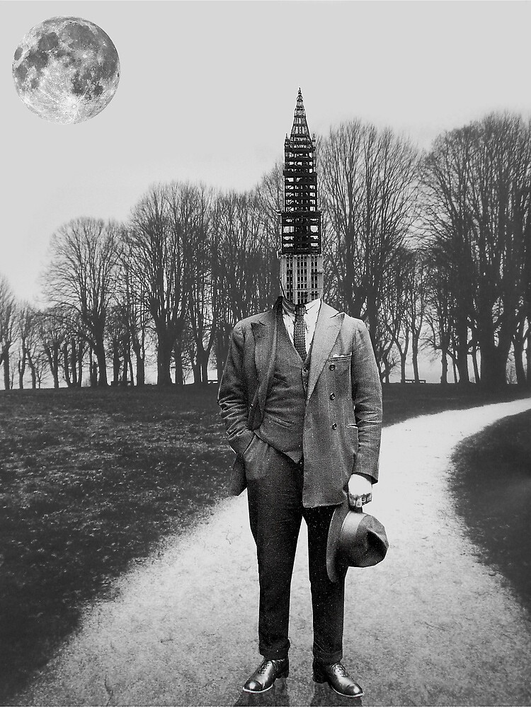 he came from the big city by Loui  Jover