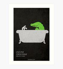 Lyle Lyle Crocodile Art Print