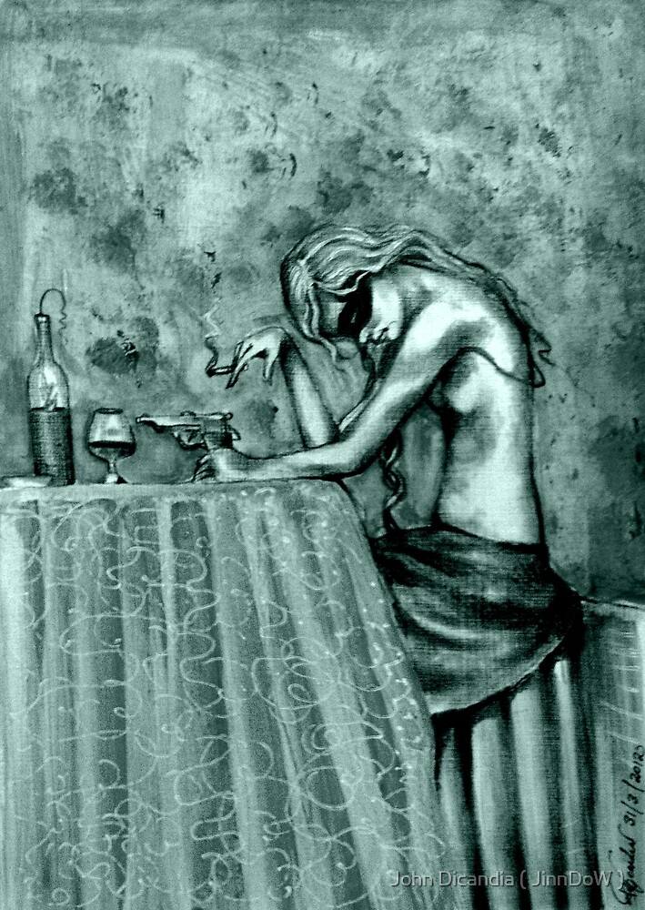 Contemplation ( In Mono ) by John Dicandia ( JinnDoW )